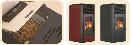 Технически параметри на пелетна камина BURNiT Comfort PD 8 kW