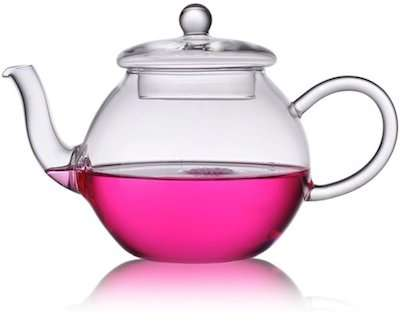Чайник изработен от боросиликатно стъкло