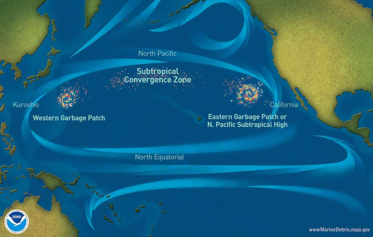 Голямо тихоокеанско петно от боклук