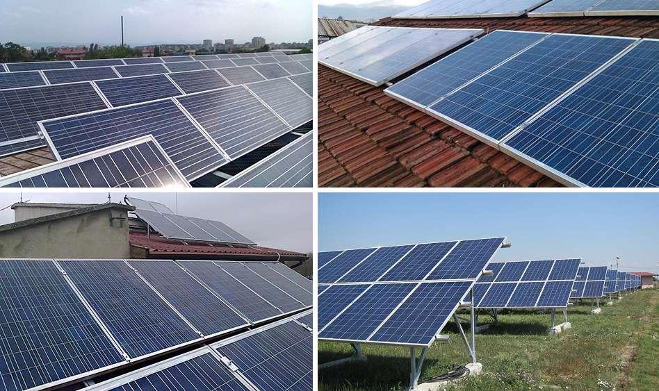 Слънчеви батерии SUNSYSTEM Poly