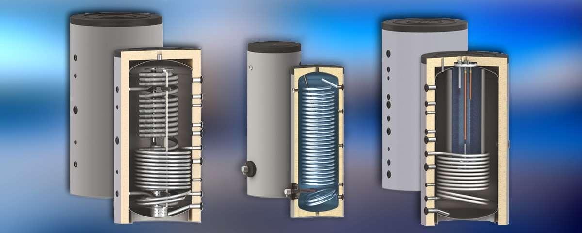 Обемни водонагреватели