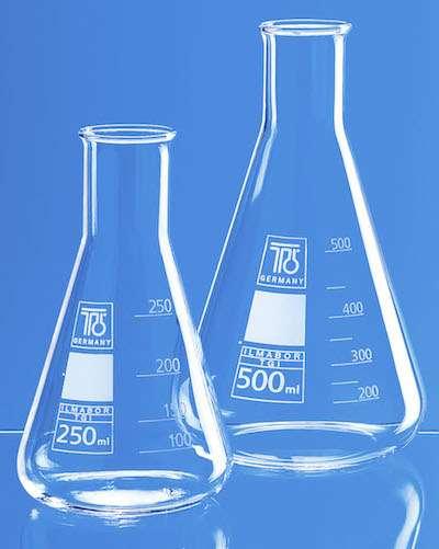 лабораторни съдове от боросиликатно стъкло