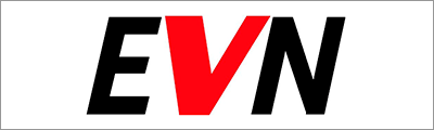 Logo of energy company EVN