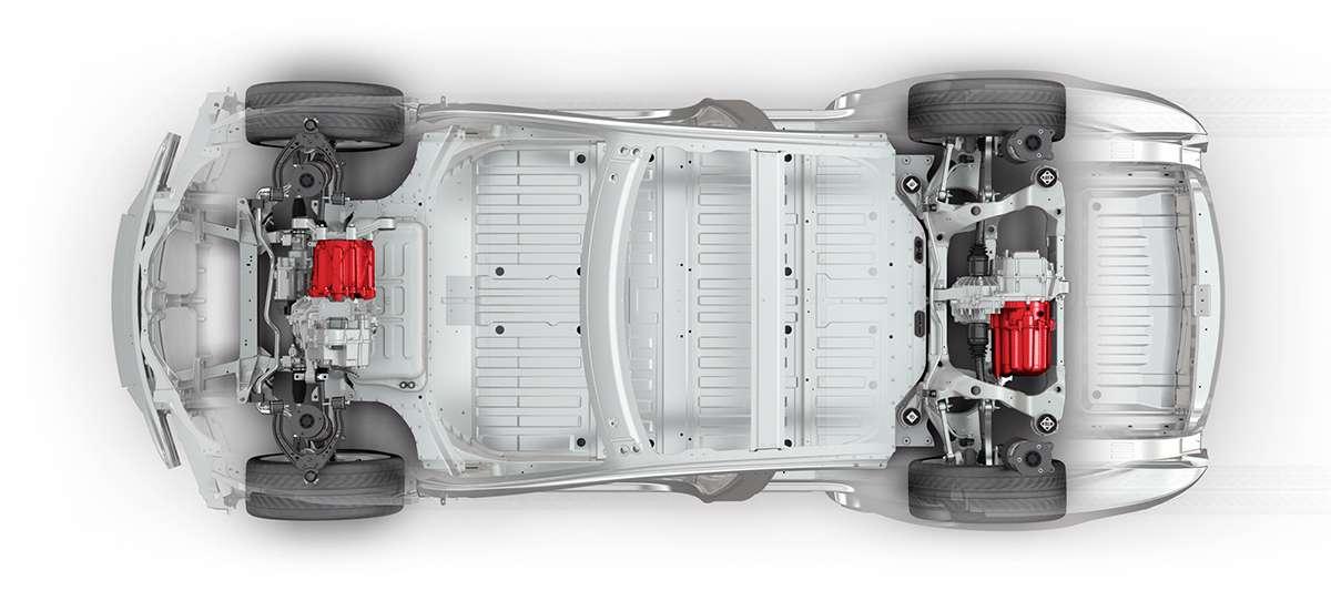 Разположение на моторите в електромобил
