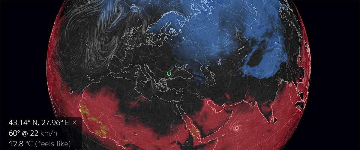 Распределение жары и холода по ощущениям