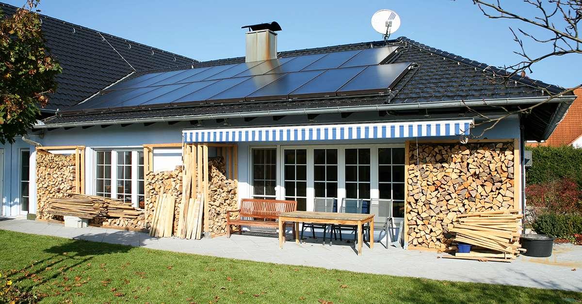 Пример за монтаж на плоски слънчеви колектори Виссманн